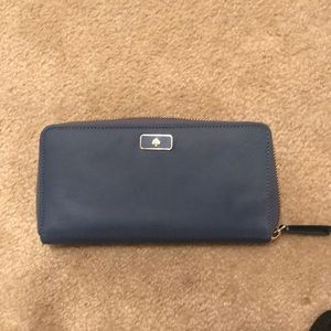 Slightly used nylon Kate spade wallet
